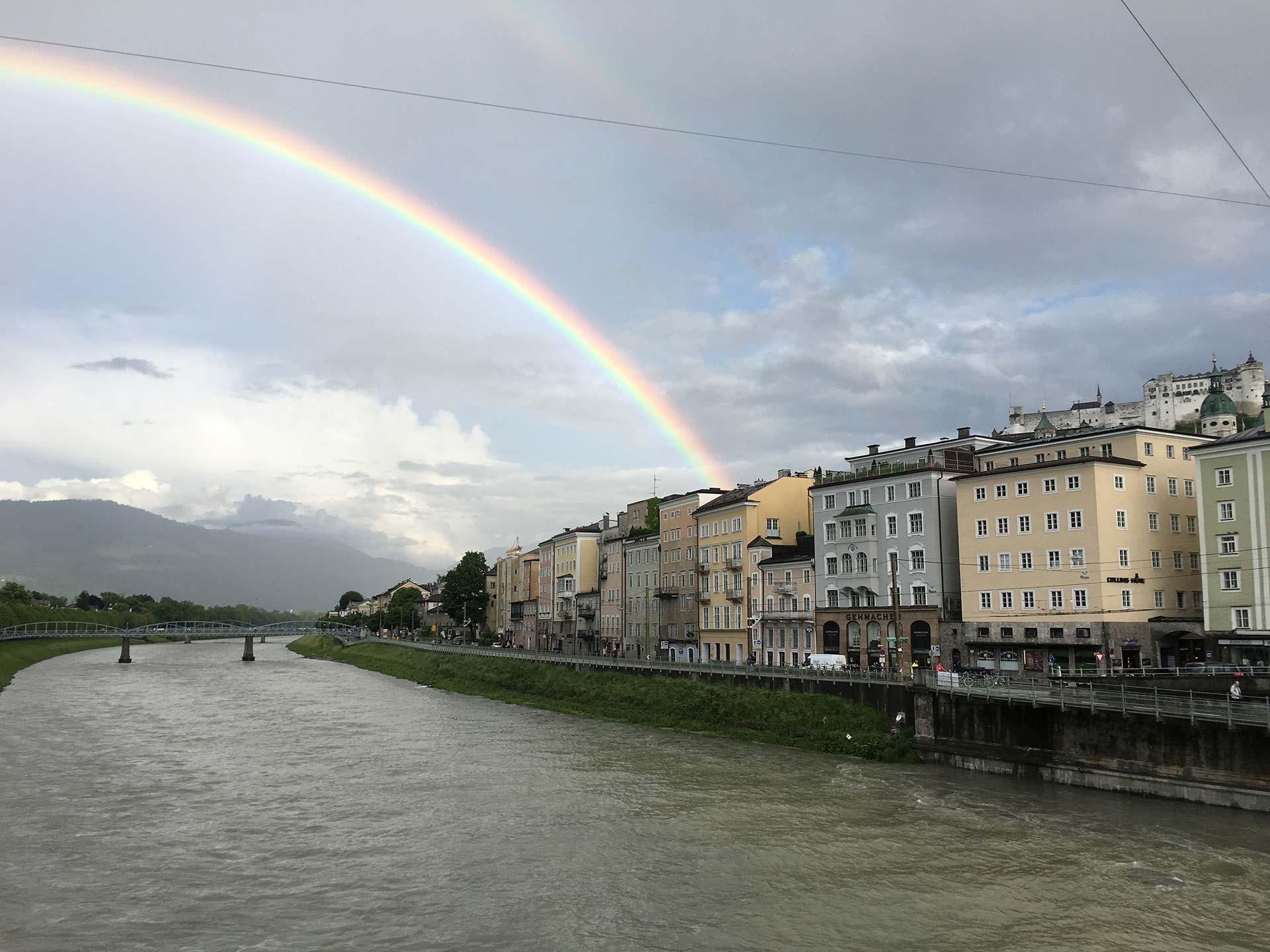 Salzburger Schnürlregen